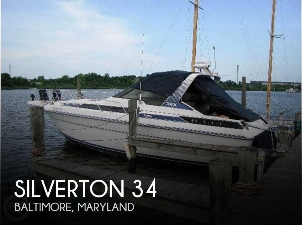 Used Silverton Boats For Sale in Maryland by owner | 1989 Silverton 34
