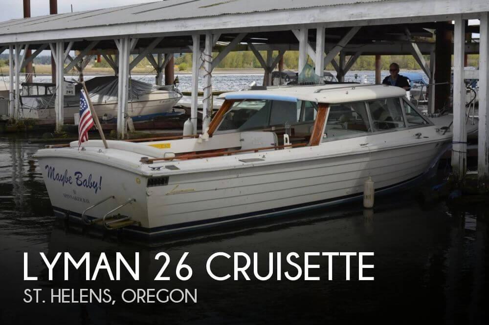 1980 Lyman 26 Cruisette - Photo #1