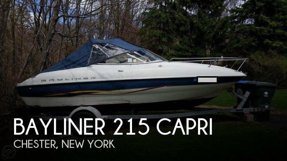 2001 Bayliner 215 Capri For Sale