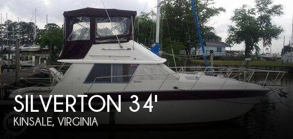 1985 SILVERTON 34 CONVERTIBLE for sale