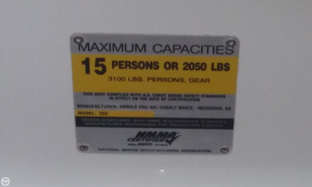 2007 Cobalt 250 BR - Photo #16