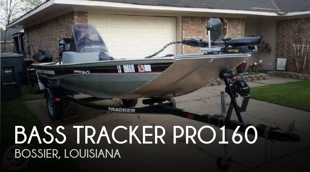 Sold bass tracker pro pro160 boat in bossier la 076240 for Bass pro fishing sale