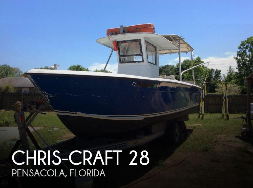 For sale used 1977 chris craft 28 in pensacola florida for Used adventure craft 28