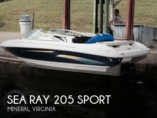 2006 Sea Ray 205 Sport - Photo #1