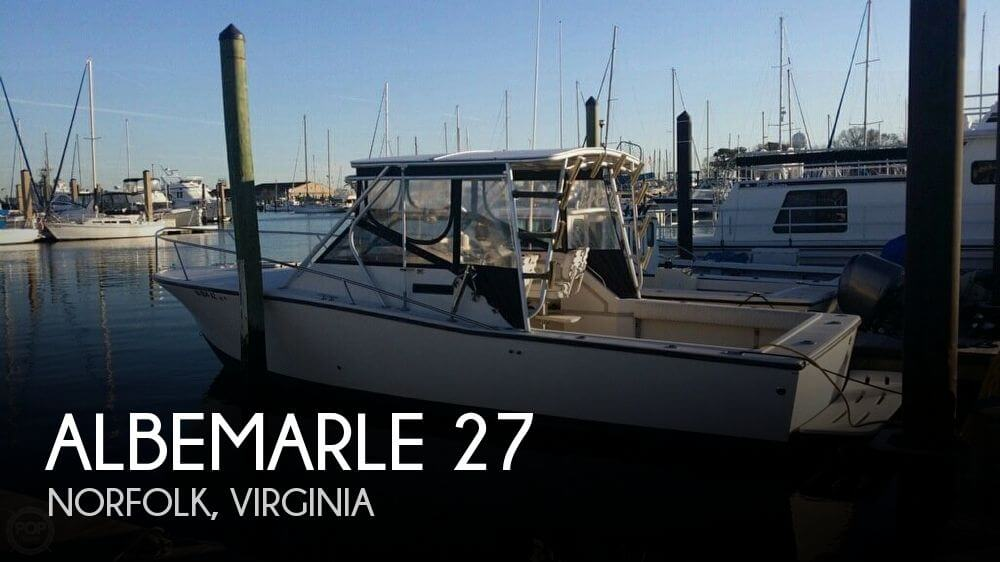 1991 ALBEMARLE 27 for sale