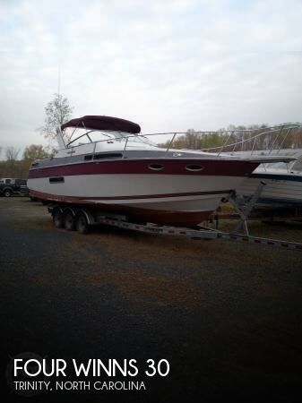 Used Four Winns Boats For Sale in North Carolina by owner | 1989 Four Winns 30