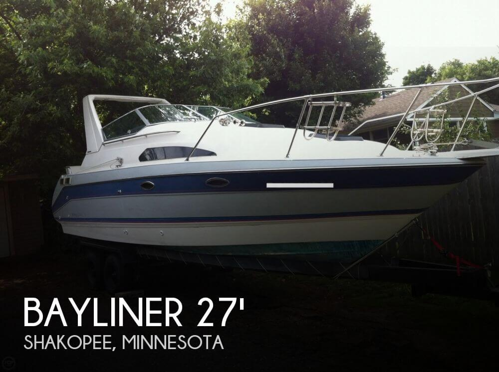 1989 Bayliner 2755 Ciera Sunbridge - Photo #1