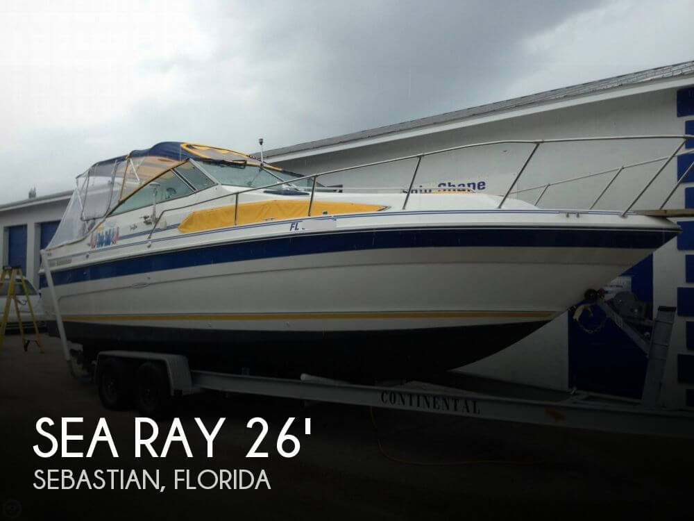 1989 Sea Ray 268 Sundancer - Photo #1