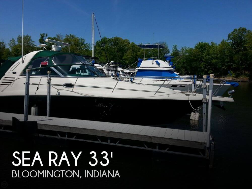 For sale used 2001 sea ray 340 amberjack in bloomington for Used fish finders craigslist