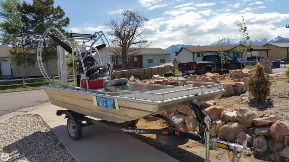2014 Hydroslide mini airboat boat for sale, model of the boat is 12 Wet Nymph & Image # 13 of 41