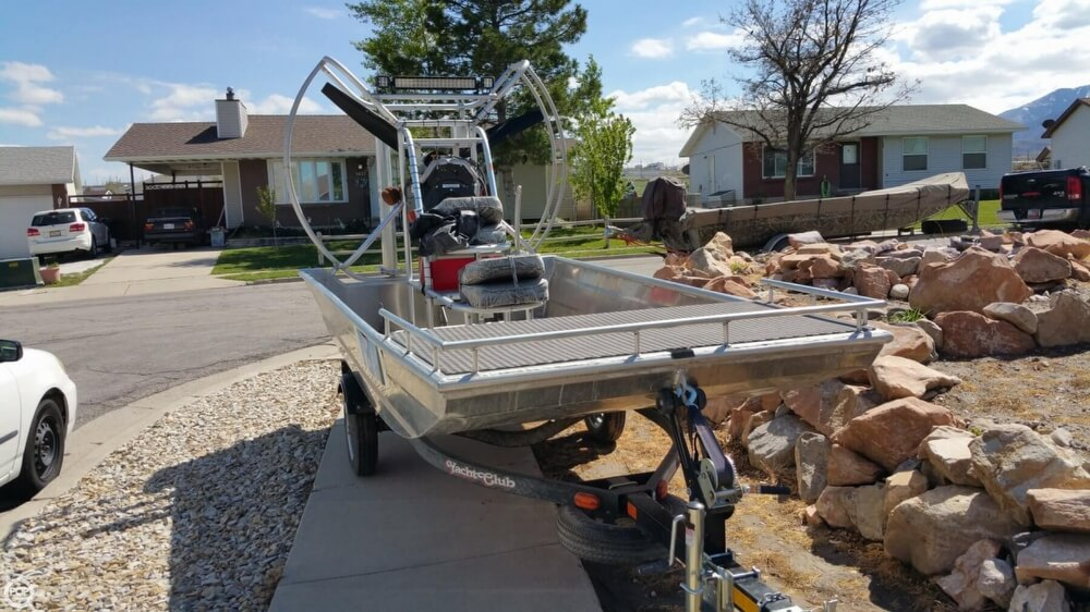 2014 Hydroslide mini airboat boat for sale, model of the boat is 12 Wet Nymph & Image # 2 of 41