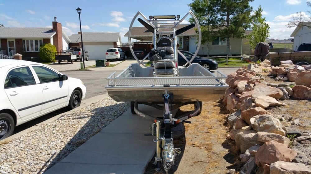 2014 Hydroslide mini airboat boat for sale, model of the boat is 12 Wet Nymph & Image # 14 of 41