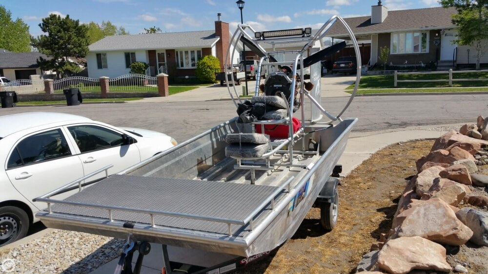 2014 Hydroslide mini airboat boat for sale, model of the boat is 12 Wet Nymph & Image # 3 of 41