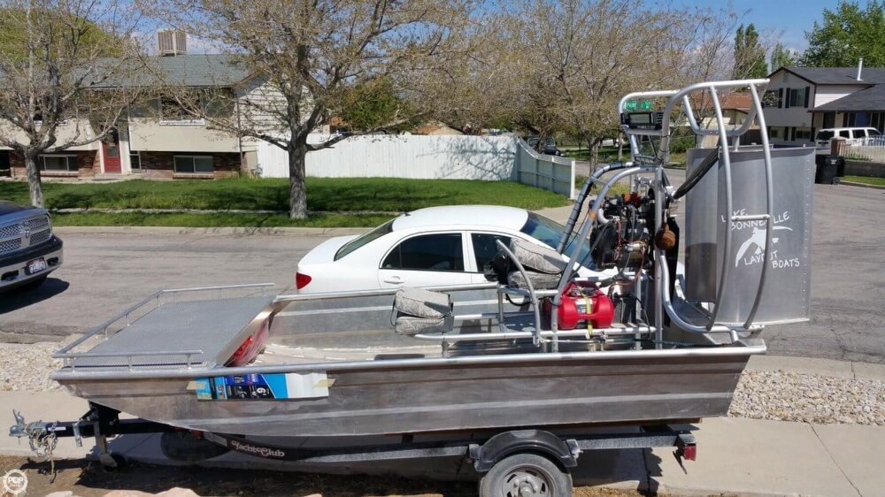 2014 Hydroslide mini airboat boat for sale, model of the boat is 12 Wet Nymph & Image # 16 of 41