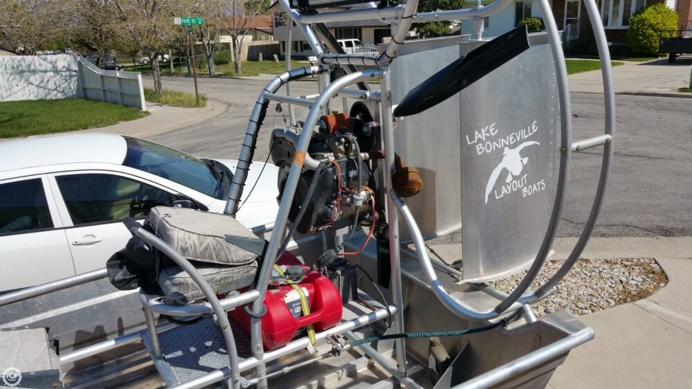 2014 Hydroslide mini airboat boat for sale, model of the boat is 12 Wet Nymph & Image # 8 of 41