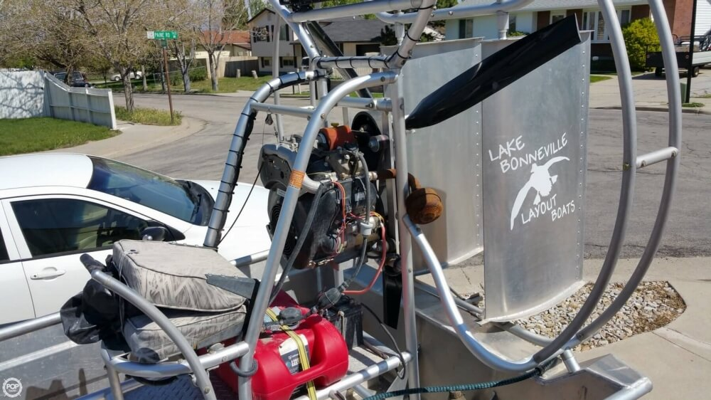 2014 Hydroslide mini airboat boat for sale, model of the boat is 12 Wet Nymph & Image # 18 of 41