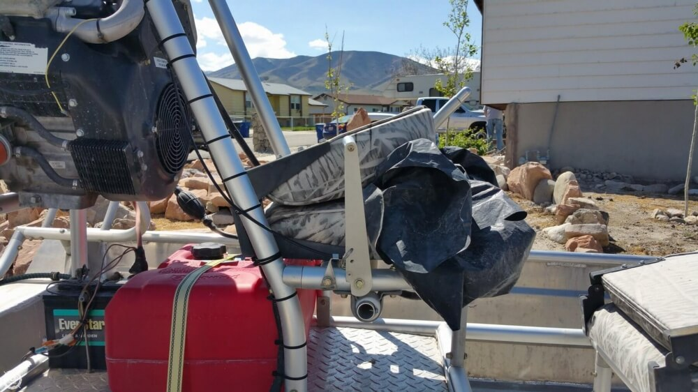 2014 Hydroslide mini airboat boat for sale, model of the boat is 12 Wet Nymph & Image # 24 of 41