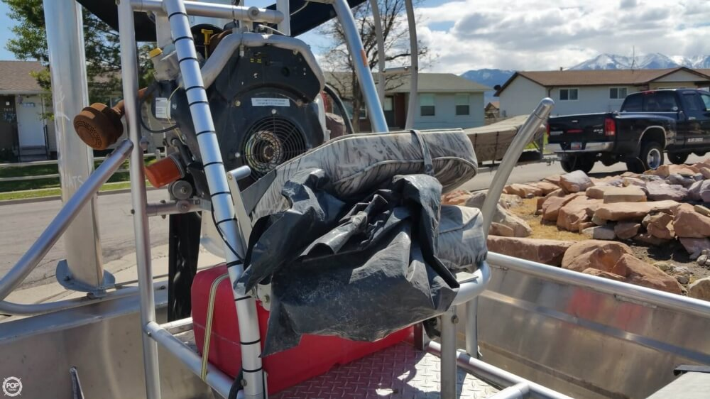 2014 Hydroslide mini airboat boat for sale, model of the boat is 12 Wet Nymph & Image # 25 of 41