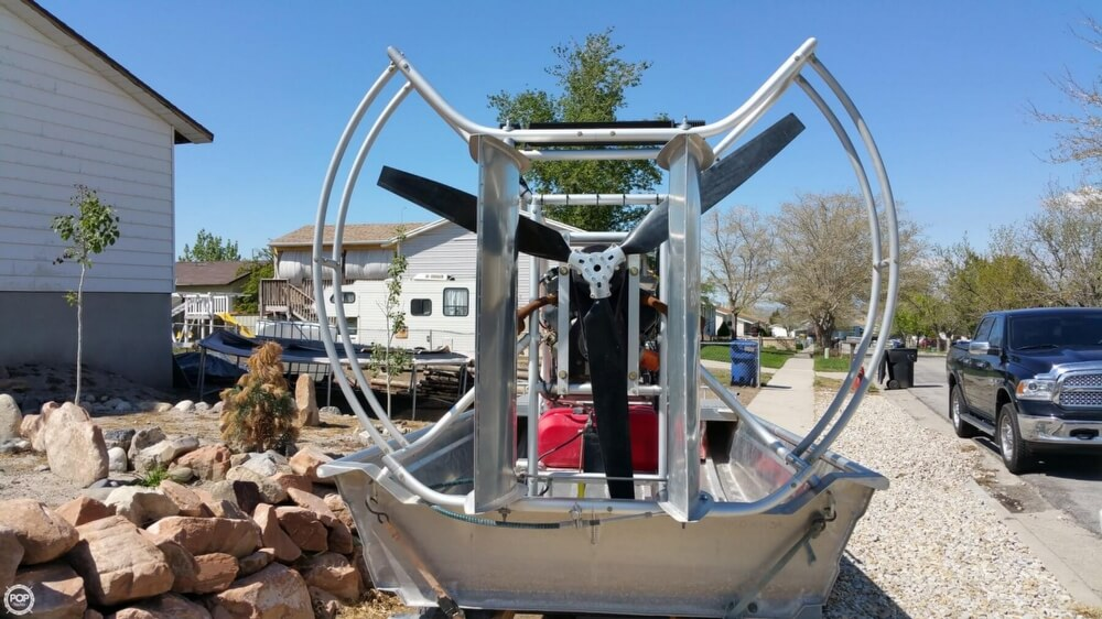2014 Hydroslide mini airboat boat for sale, model of the boat is 12 Wet Nymph & Image # 9 of 41