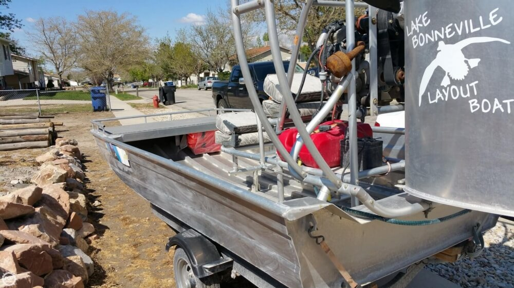 2014 Hydroslide mini airboat boat for sale, model of the boat is 12 Wet Nymph & Image # 40 of 41