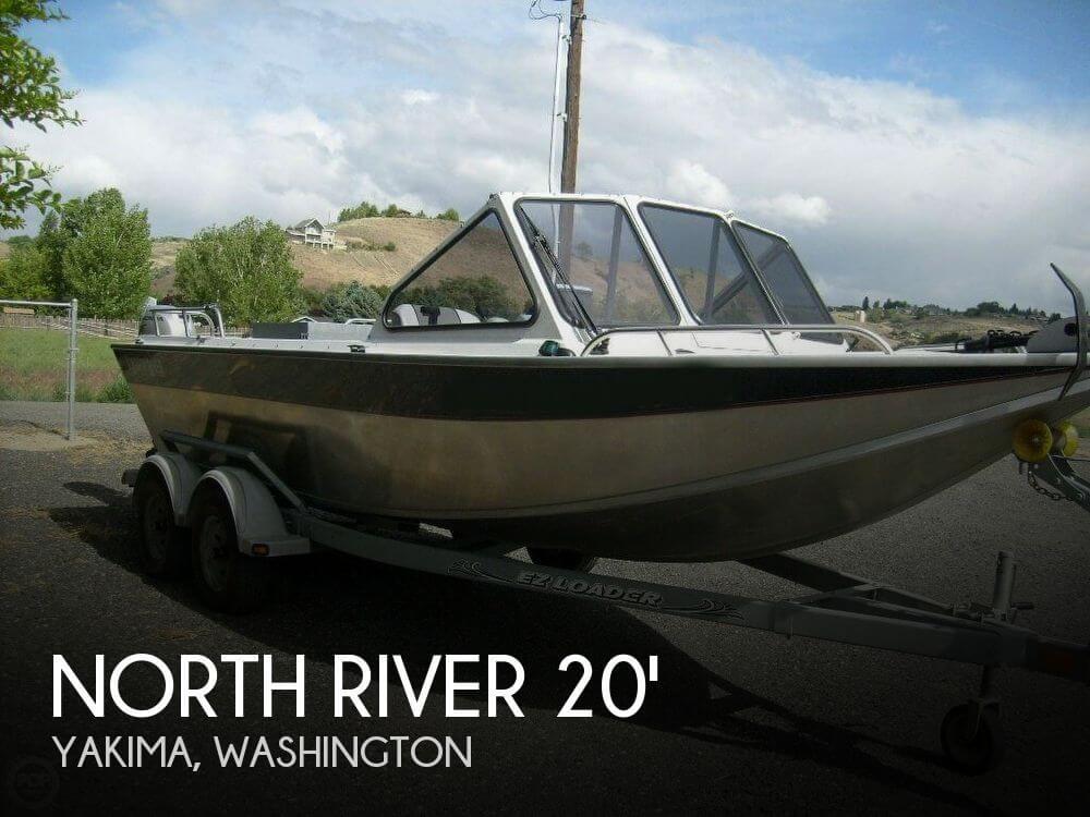 2001 NORTH RIVER 20 RB TRAPPER for sale