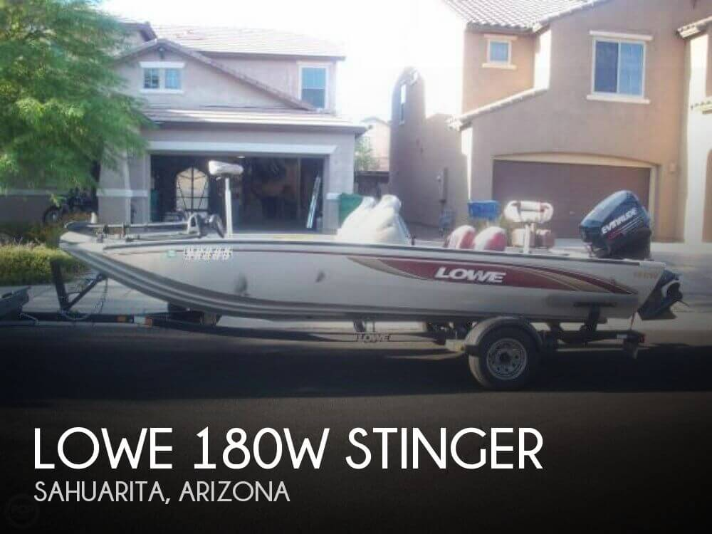 2003 LOWE 180W STINGER for sale