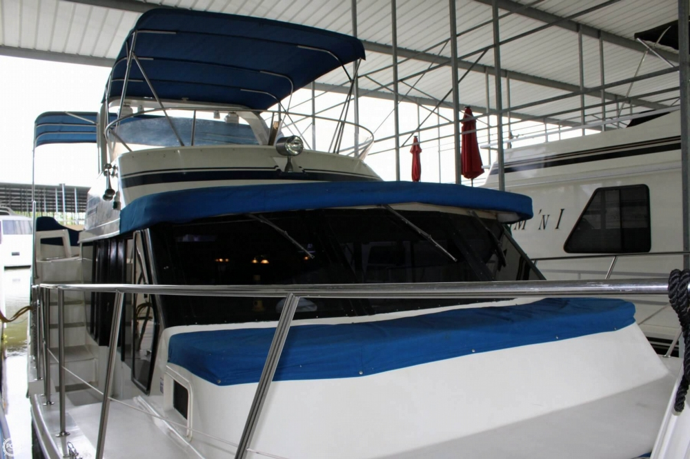 1985 Bluewater Yachts 51 Coastal Cruiser - Photo #3