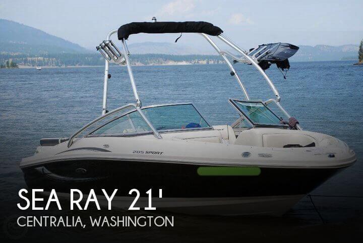 2010 Sea Ray 205 Sport Bowrider - Photo #1
