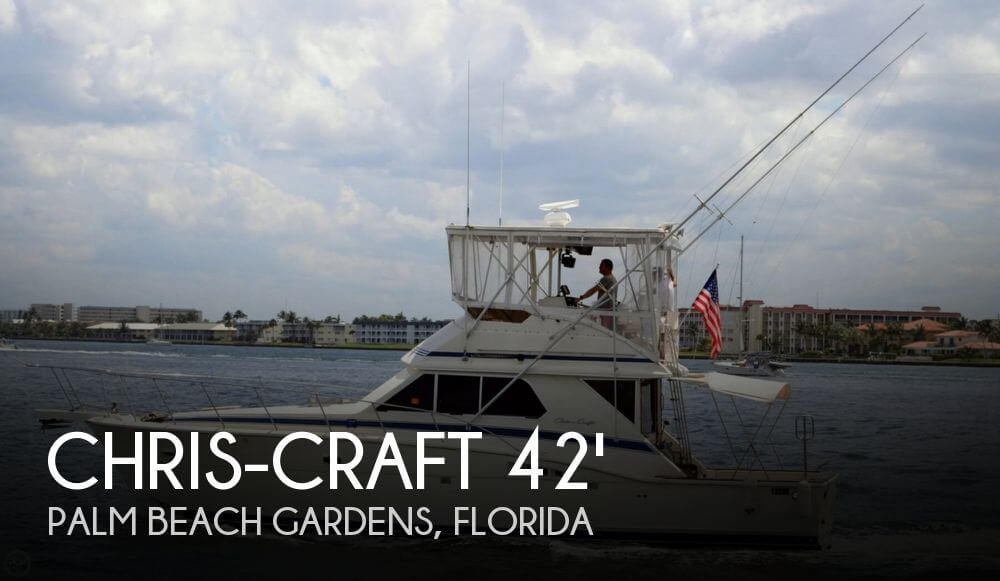 1986 Chris Craft 422 SF Commander for sale
