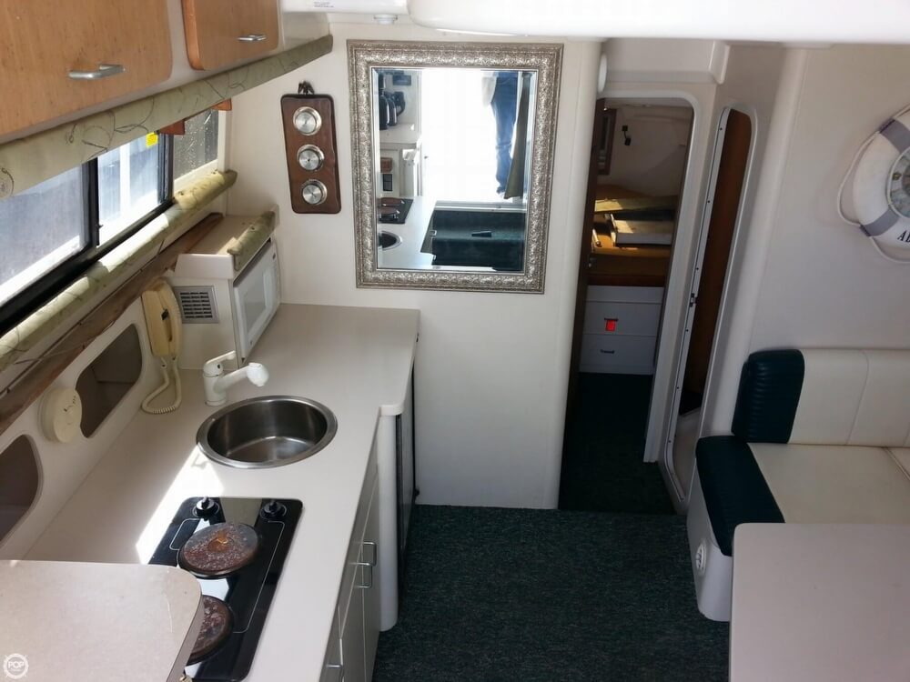 View Of The Kitchen As You Enter The Cabin