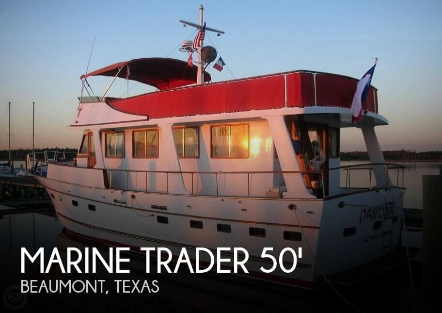 For Sale Used 1982 Marine Trader 50 Motor Yacht In