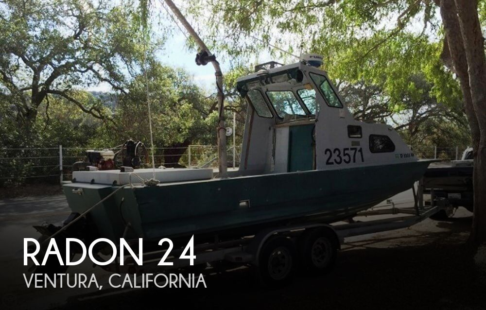Used Boats For Sale in Santa Maria, California by owner | 1974 Radon 24