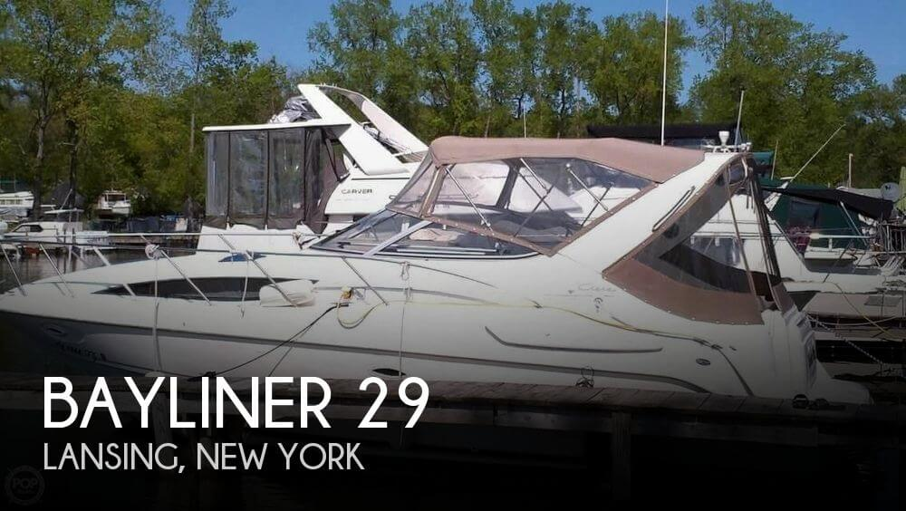 Used Boats For Sale in Binghamton, New York by owner | 2000 Bayliner 29