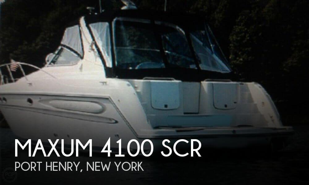 1997 Maxum 4100 SCR - Photo #1