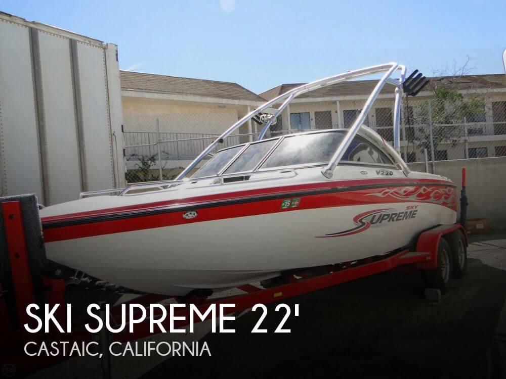 2006 Ski Supreme V220 Sky Package - Photo #1