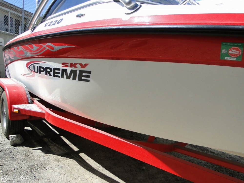 2006 Ski Supreme V220 Sky Package - Photo #31
