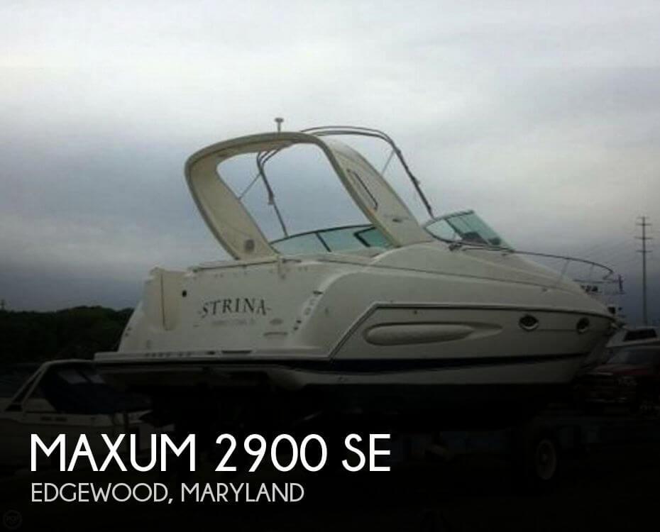 2005 Maxum 2900 SE - Photo #1