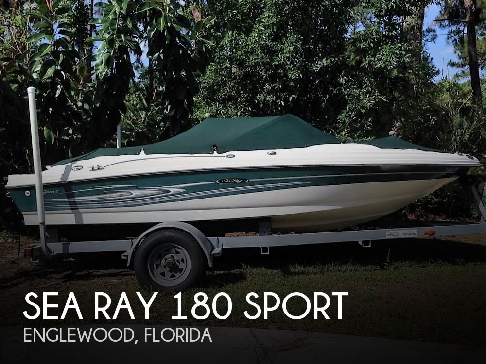 2004 Sea Ray boat for sale, model of the boat is 180 Sport & Image # 1 of 40