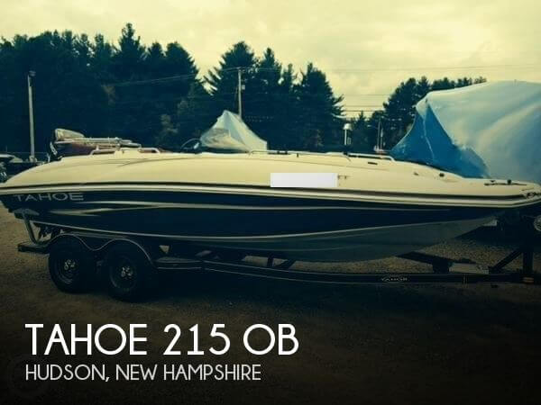2008 Tahoe 215 OB - Photo #1