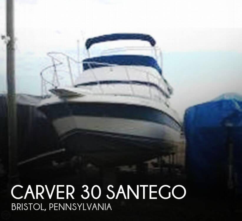 1989 Carver 30 Santego - Photo #1