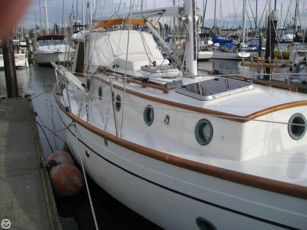 1977 Rafiki boat for sale, model of the boat is 37 Cutter & Image # 25 of 40