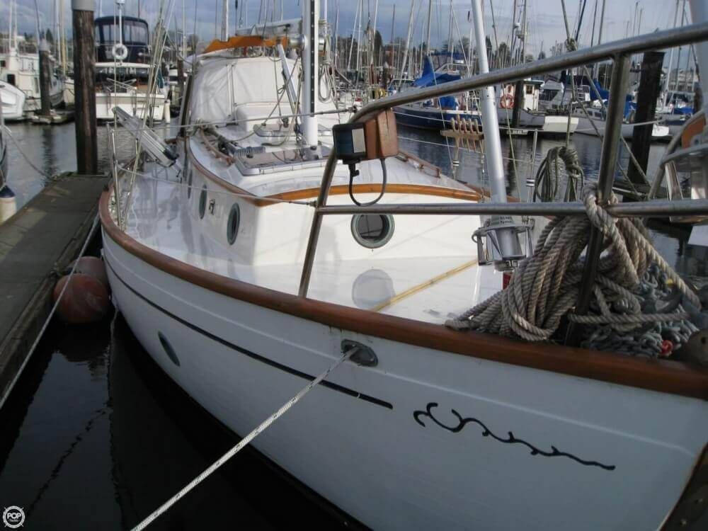 1977 Rafiki boat for sale, model of the boat is 37 Cutter & Image # 27 of 40