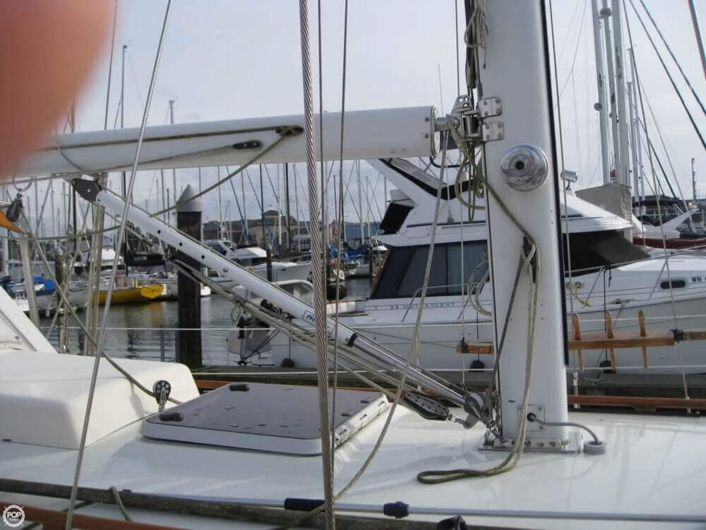 1977 Rafiki boat for sale, model of the boat is 37 Cutter & Image # 28 of 40