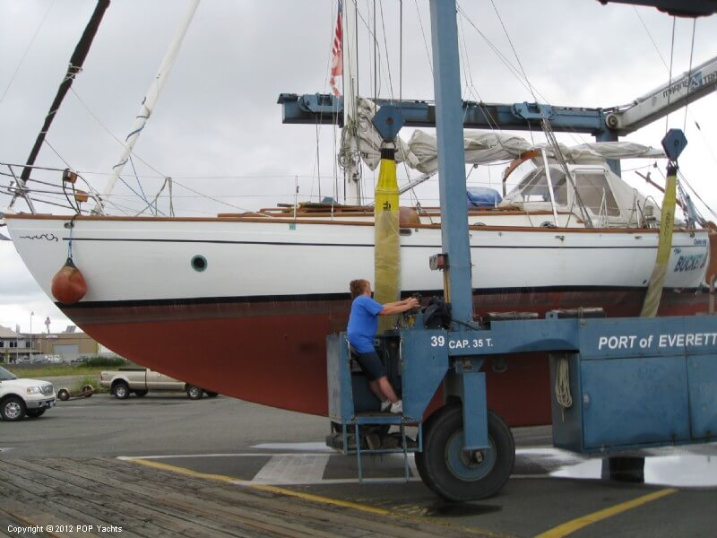 1977 Rafiki boat for sale, model of the boat is 37 Cutter & Image # 2 of 40