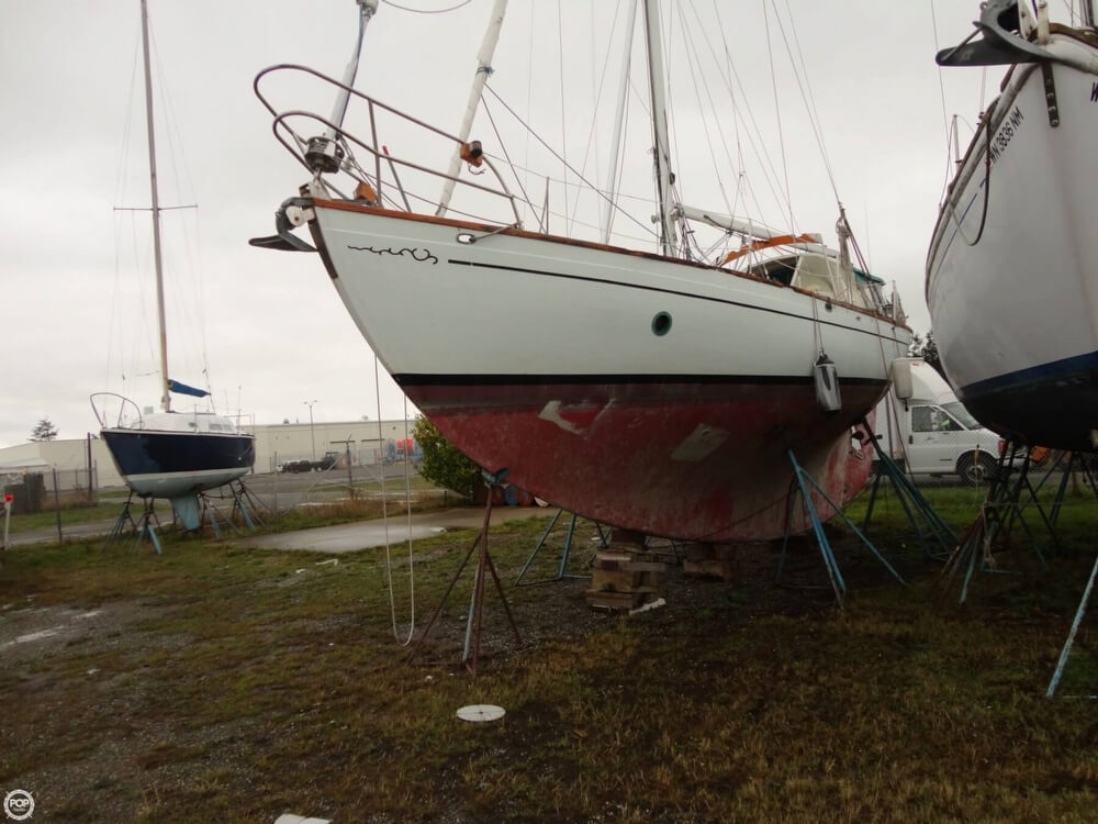 1977 Rafiki boat for sale, model of the boat is 37 Cutter & Image # 38 of 40