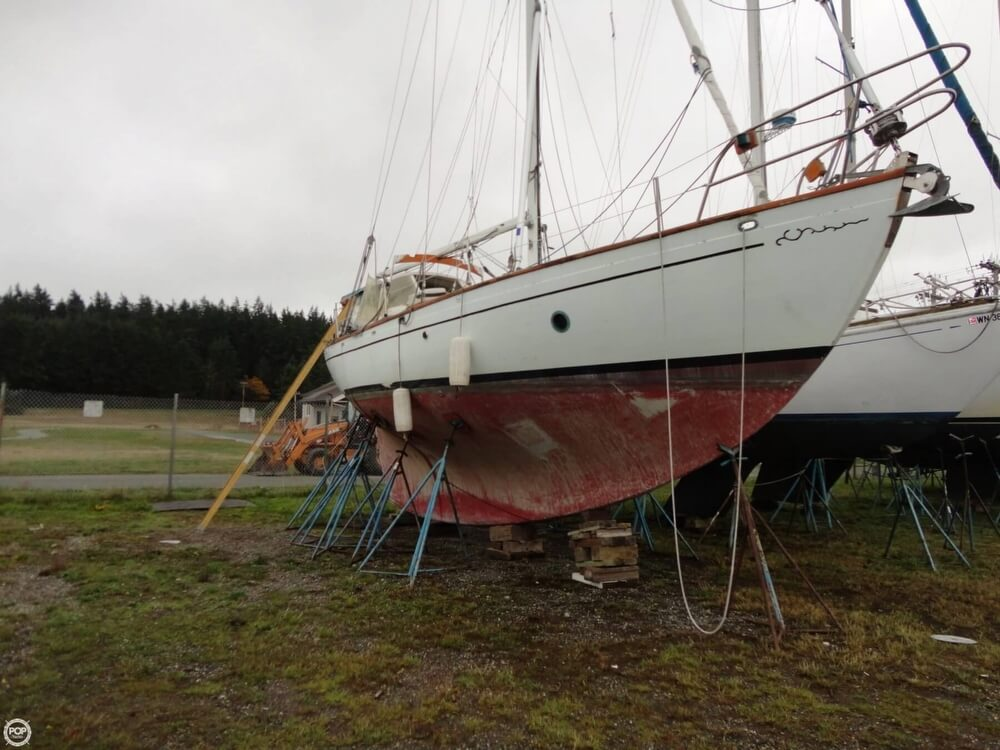 1977 Rafiki boat for sale, model of the boat is 37 Cutter & Image # 40 of 40