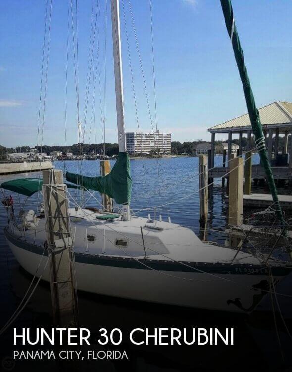 1978 hunter 30 power boat for sale in panama city fl for Used boat motors panama city fl