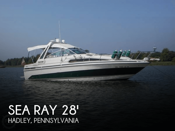 Used Boats For Sale in Erie, Pennsylvania by owner | 1986 Sea Ray 28