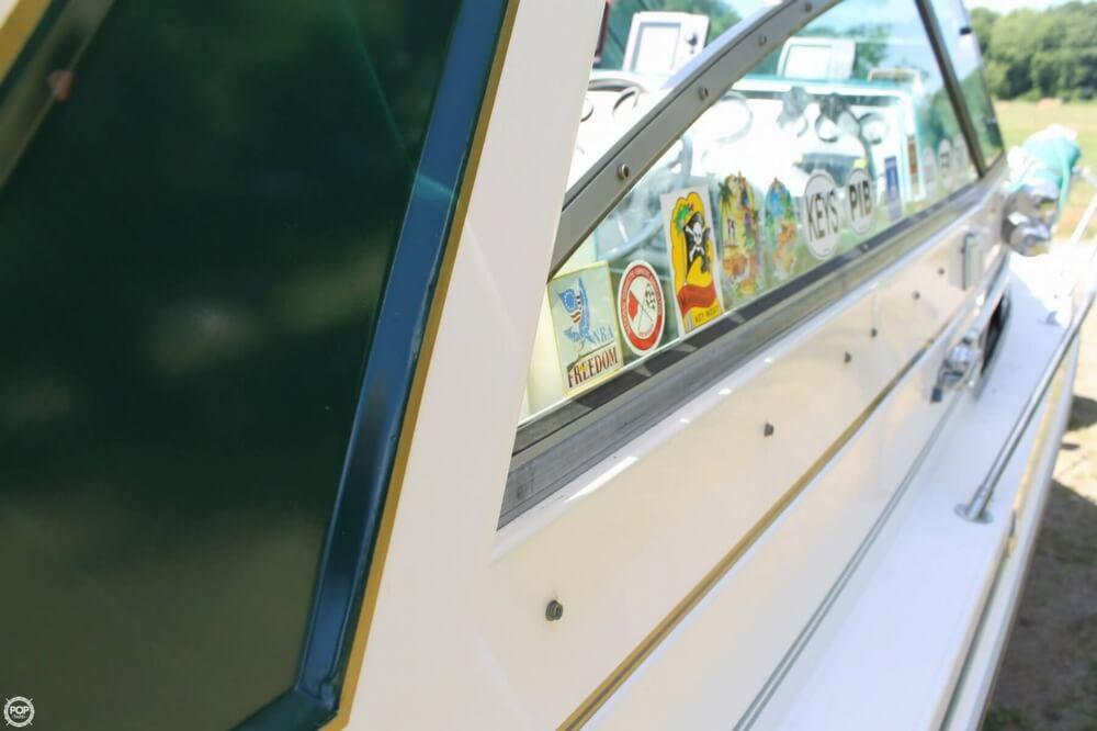Starboard Side Cockpit Window
