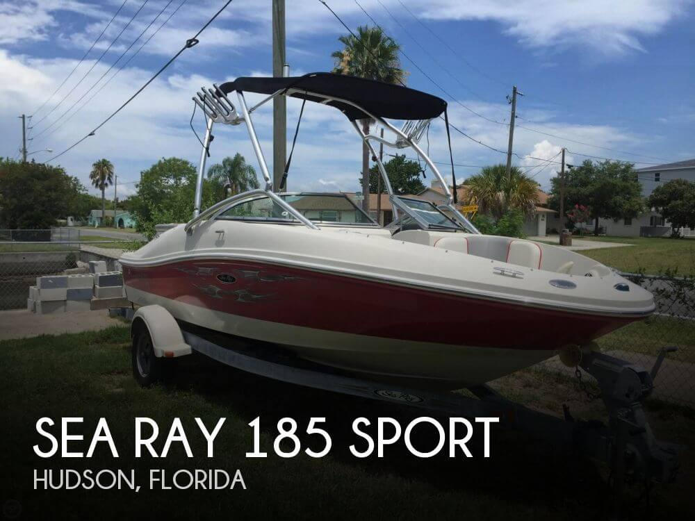 2008 Sea Ray 185 Sport - Photo #1